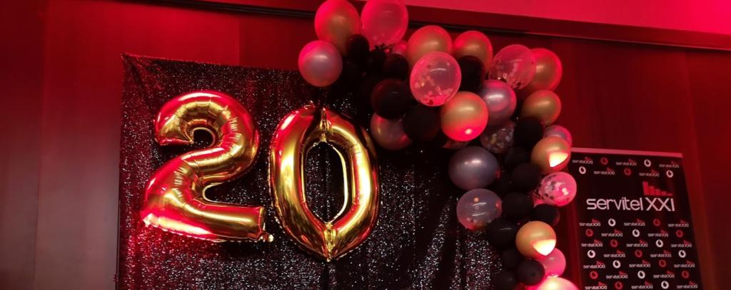20 Aniversario Servitel Vodafone